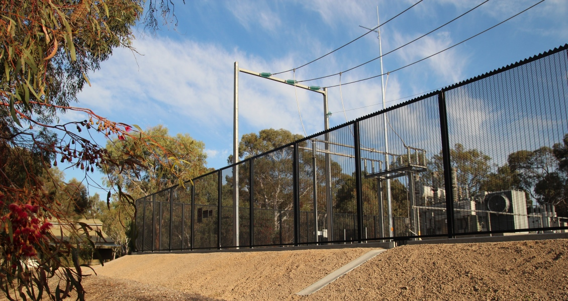 Guardforce Max 174 Fencing Secures Substation In World