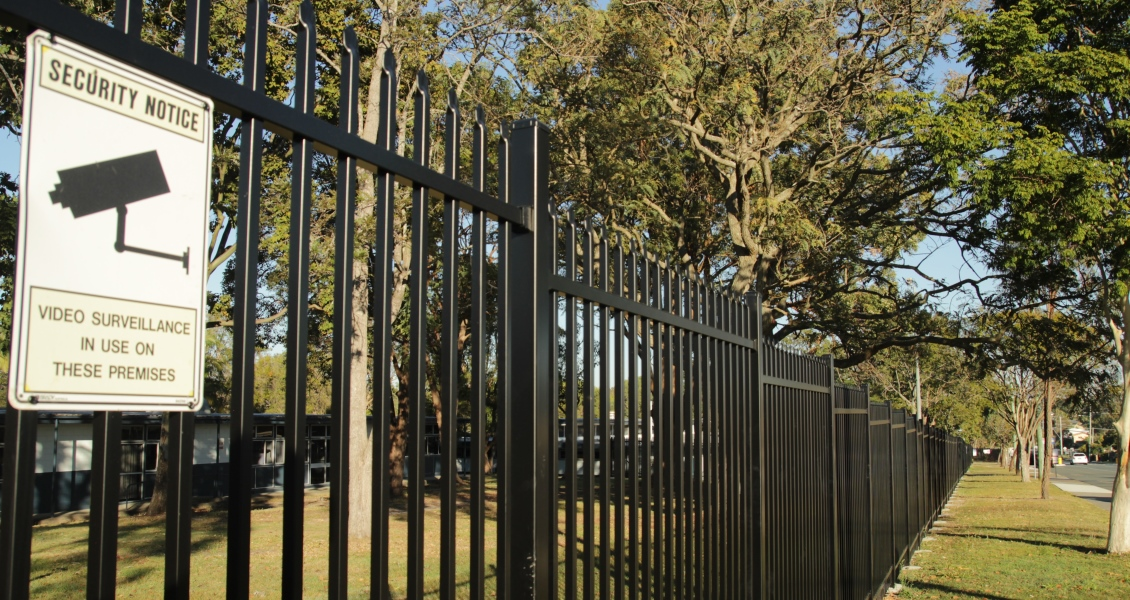Another queensland school secured with a Bluedog SecuraTop® school security fence and gate system