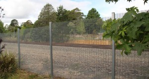 Perimeter security fencing just got a lot more cost effective: EconoMesh® 358 mesh fence system