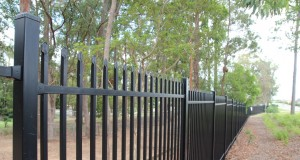 Dakabin State High School secured with a Bluedog SecuraTop security fence