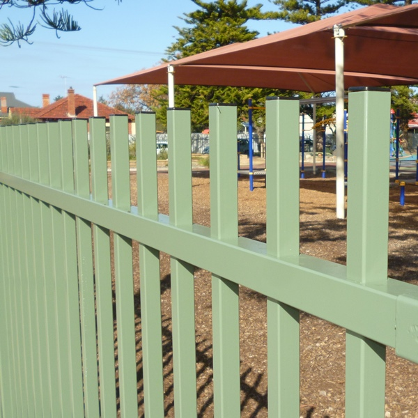 Bluedog ChildSure® playground fencing give peace of mind that children can not scale, penetrate or get under the fence and come to harm.