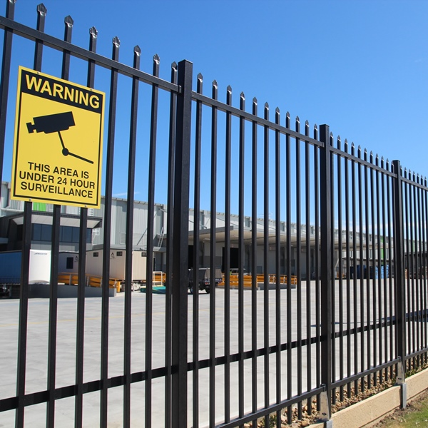 SecuraTop Max is our high security tubular fence system designed to secure higher value and more sensitive assets from unauthorised access.