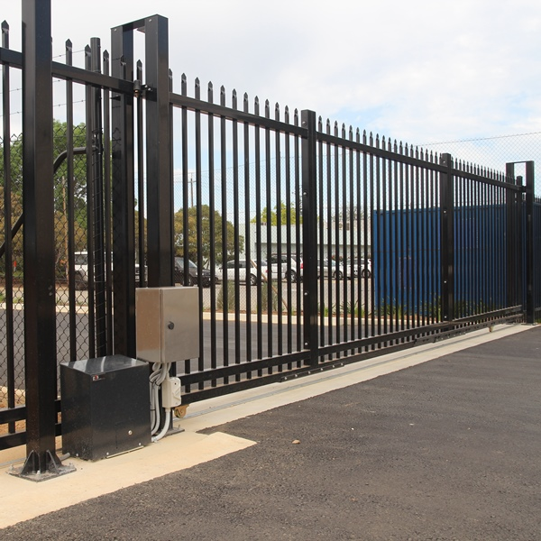 The modular and light weight design allows us to manufacture and supply the security sliding gate very competitively.