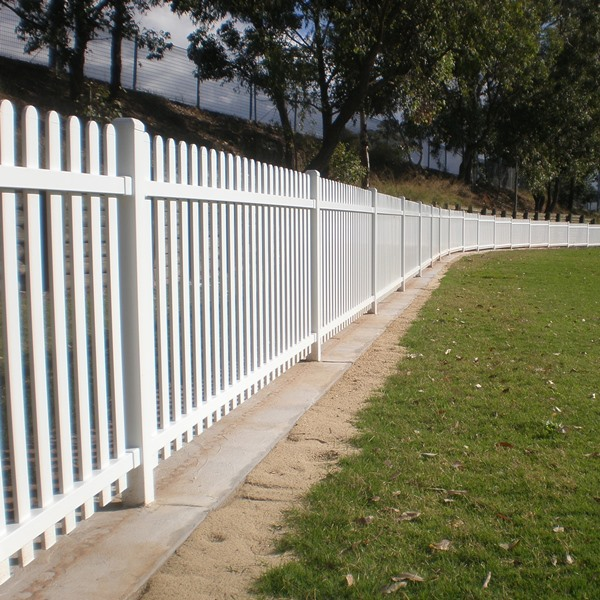 Bluedog Tunbridge® steel picket fencing is suitable for cricket and sports ovals like this one in Sydney.