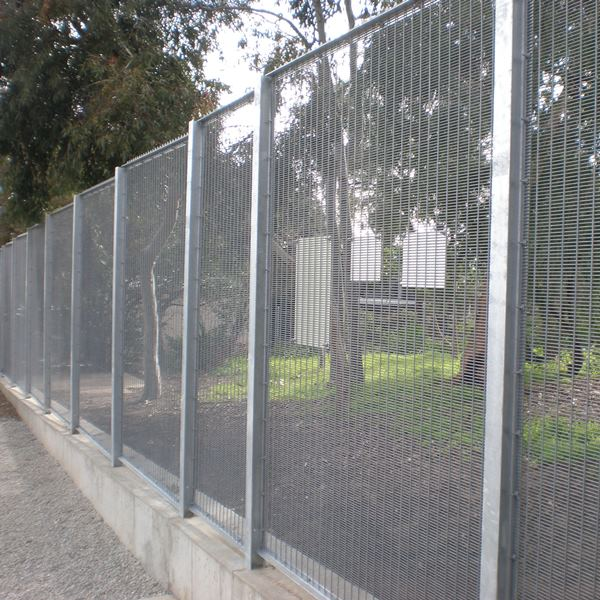The welded mesh sheet is visually less intrusive than some other barriers and   maintains a very high level of natural surveillance into the enclosed area allowing   unauthorised intruders to be detected.